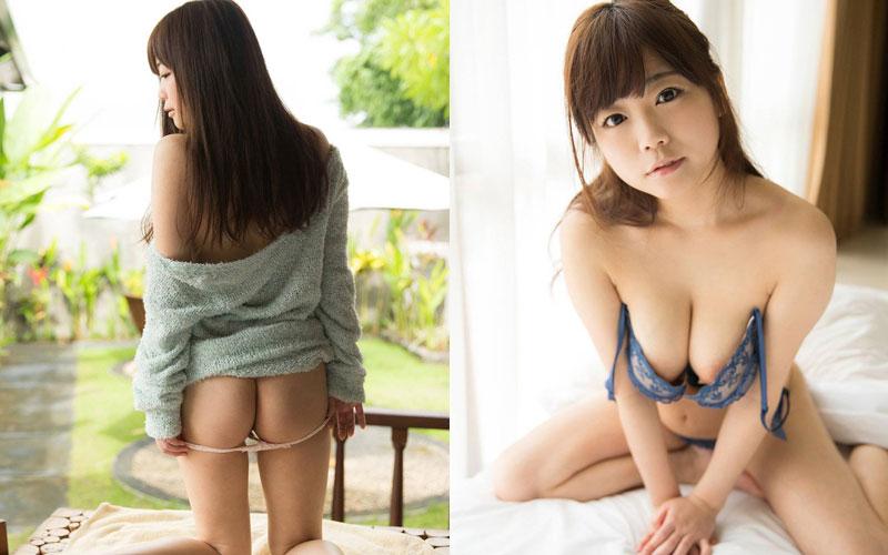 Photos Actress JAV Miharu Usa Bikini Sexy Cute Big Breasts