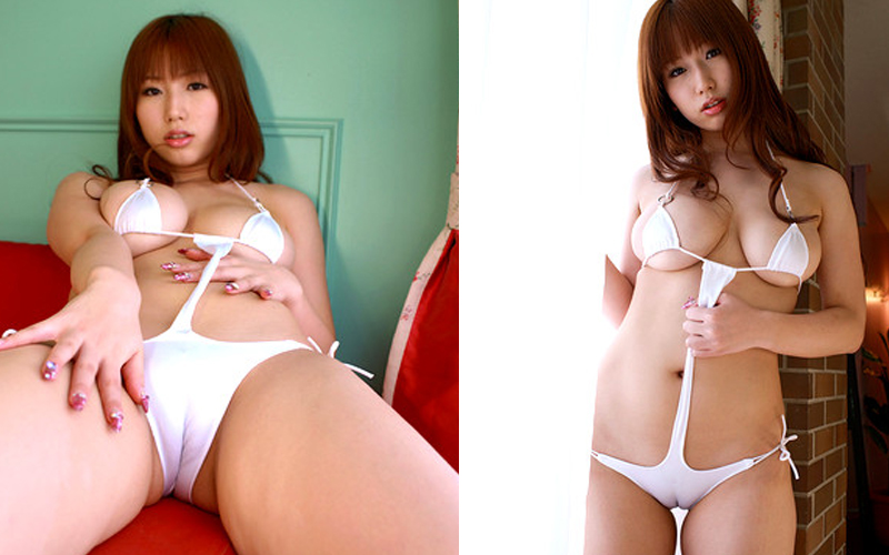 See photos of Japanese girls with chubby pussy erotic