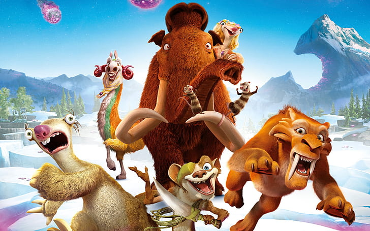 Watch Ice Age 5: Collision Course (2016) Full Movies Full HD Online Free