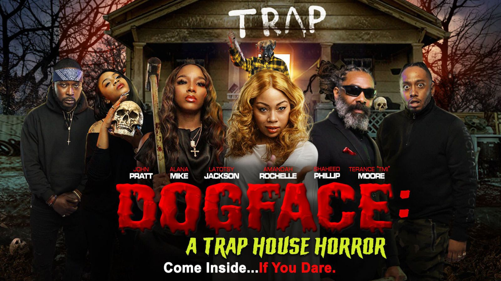 Watch Dogface: A Trap House Horror (2021) Full Movies Full HD Watch Free Online