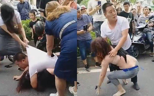 Đánh ghen tại Hà Giang, cô vợ bắt tại trận chồng cùng bồ nhí đang ân ái