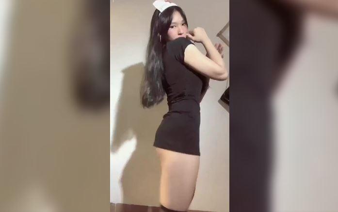 Pretty girl, big thighs, tight butt, sexy sexy dance