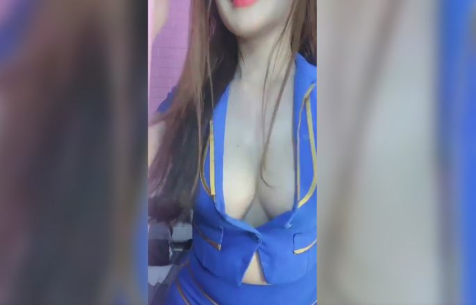 Hot sexy flight attendants reveal sexy hot clips