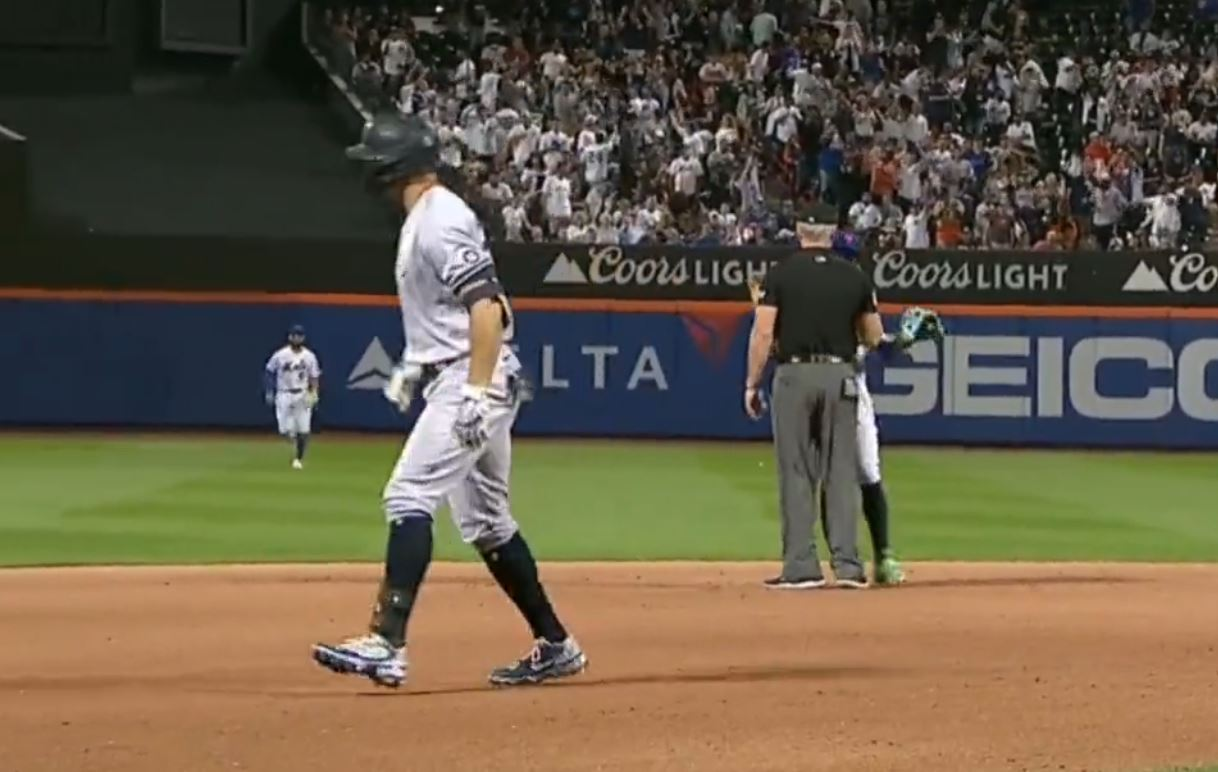 Baez BEGGING for Stanton to come back out there was laugh out loud funny