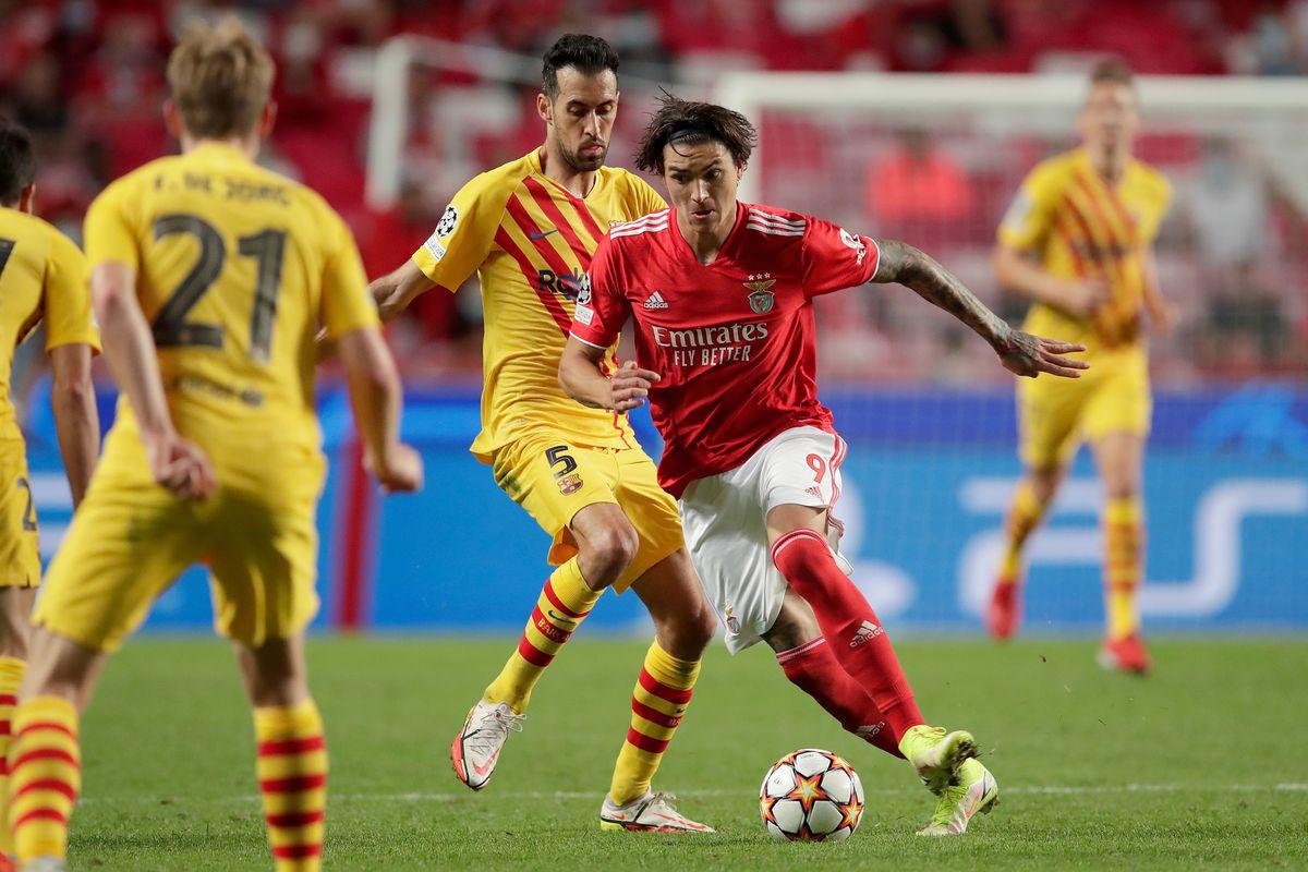 Benfica 3-0 Barcelona (2021.09.29) Full Goals Highlight Extended