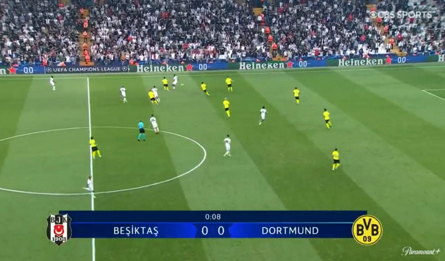 Besiktas 1-2 Borussia Dortmund 2021.09.15 (17h45) Watch Full Goals Highlight Extended
