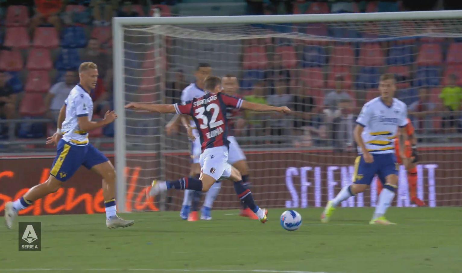 Bologna 1-0 Verona 2021.09.13 (19h45) Full Goals Highlight