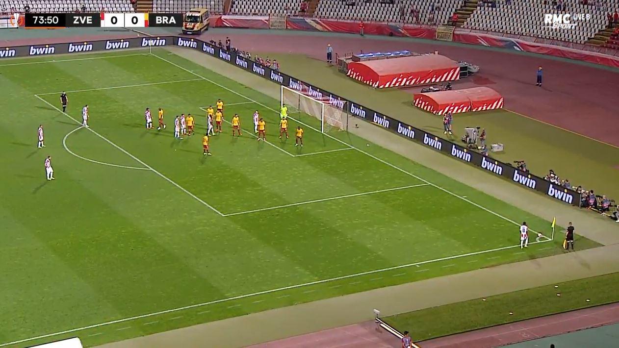 Crvena Zvezda 2-1 Sporting Braga (2021.09.16) Watch Full Goals Highlight