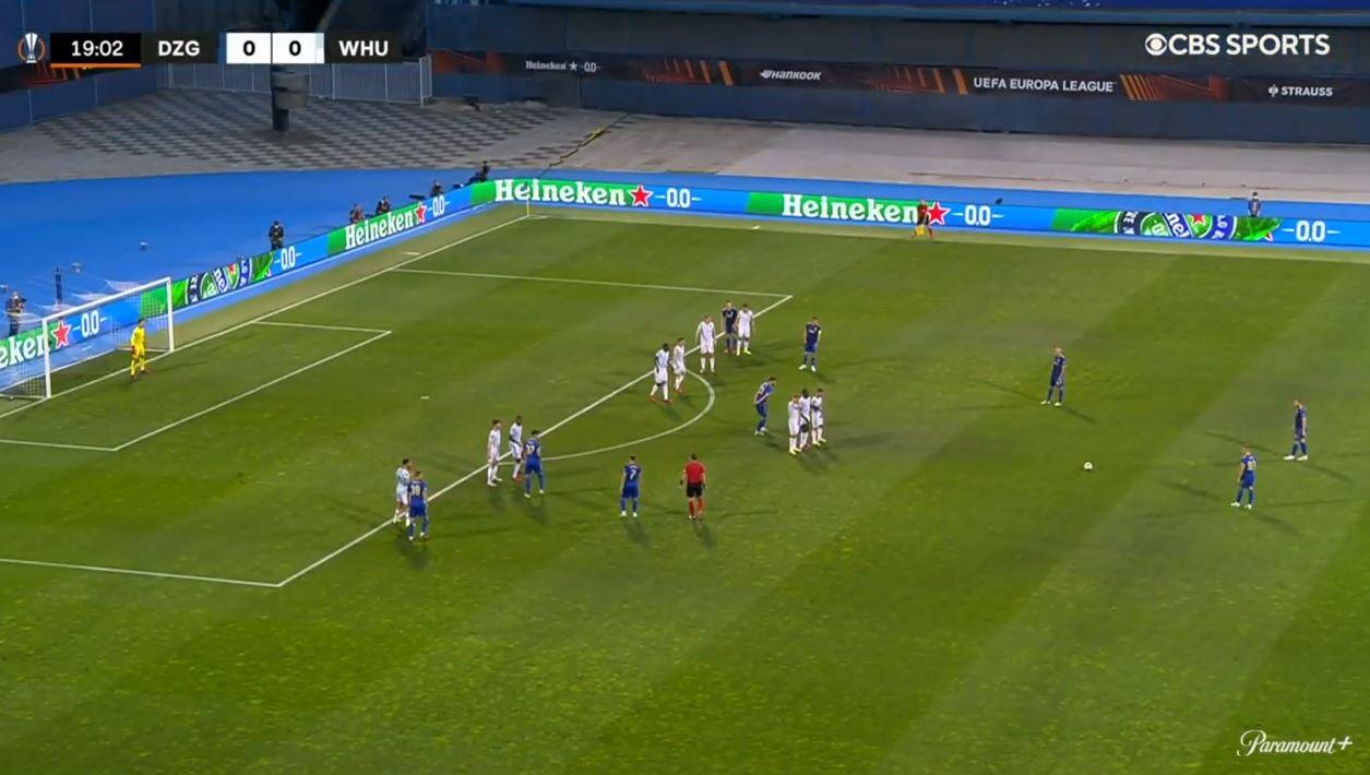 Dinamo Zagreb 0-2 West Ham (2021.09.16) Watch Full Goals Highlight