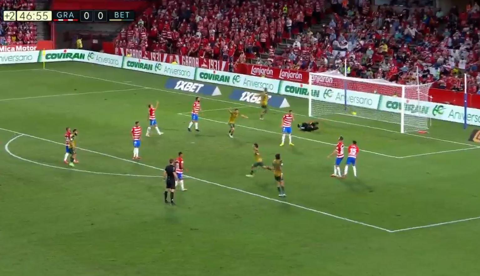 Granada 1-2 Real Betis (2021-09-13) Full Goals Highlight Extended Video