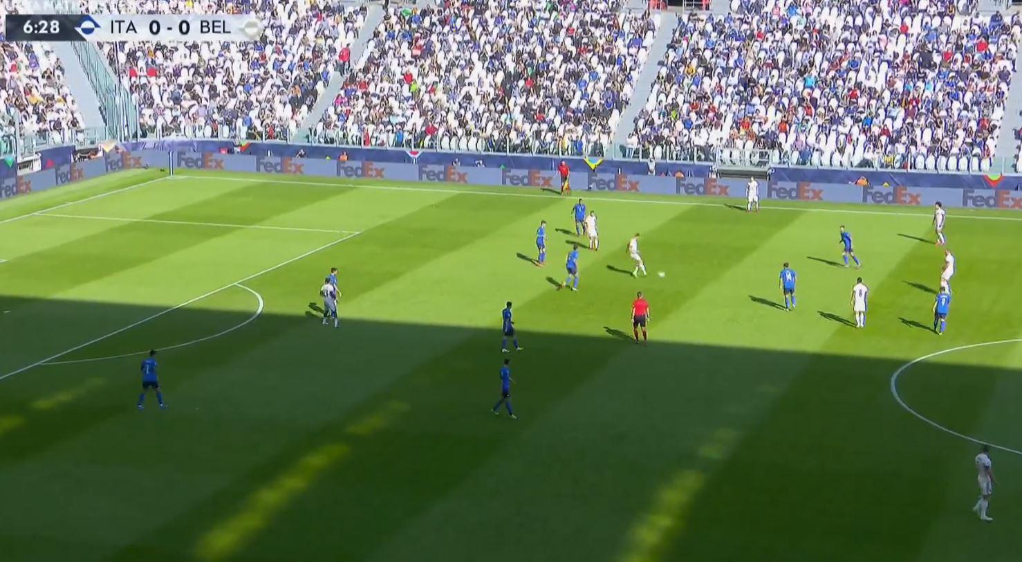 Italy 2-1 Belgium (UEFA Nations League) 2021.10.10 (14h00) Full Goals Highlight