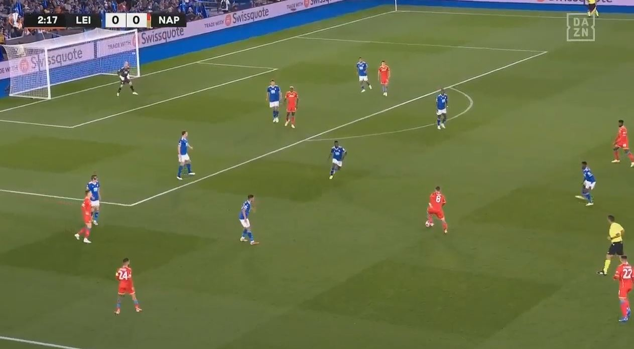 Leicester City 2-2 Napoli (2021.09.16) Watch Full Goals Highlight