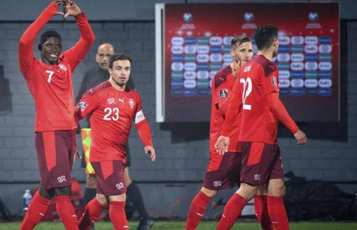 Lithuania 0-4 Switzerland (WC Qualif.) 2021.10.12 (19h45) Full Goals Highlight