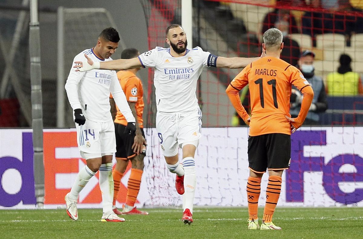 Shakhtar Donetsk 0-5 Real Madrid 2021.10.19 (20h00) Full Goals Highlight