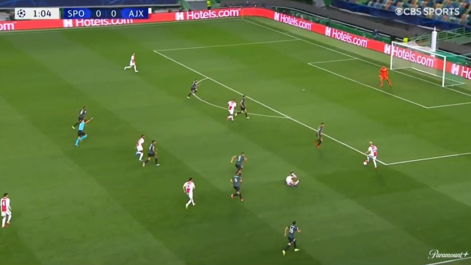 Sporting 1-5 Ajax 2021.09.15 (20h00) Watch Full Goals Highlight