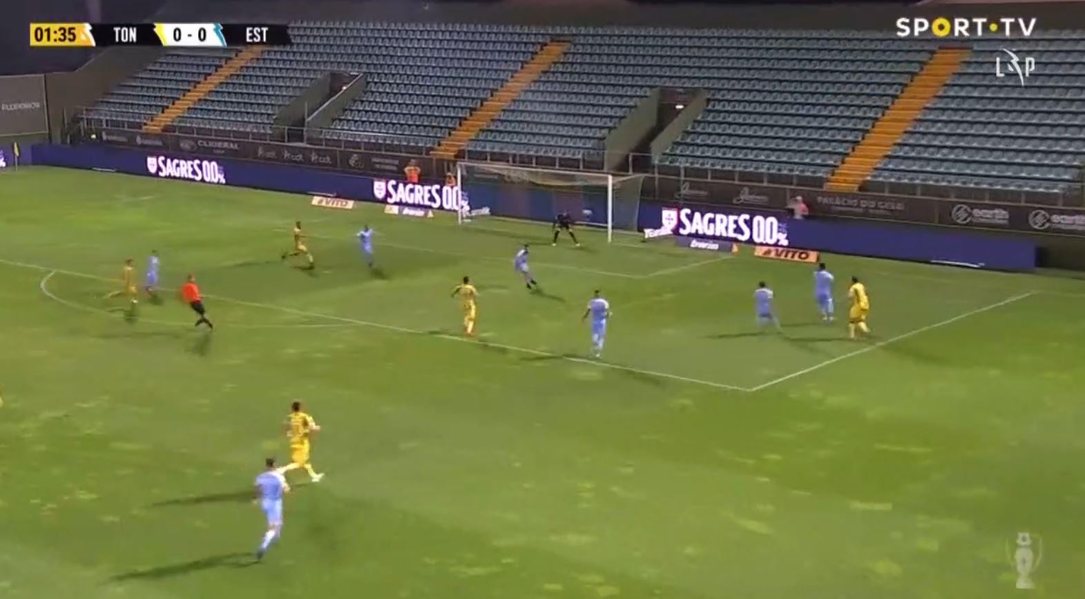 Tondela 1-2 Estoril 2021.09.13 (21h15)  Full Goals Highlight