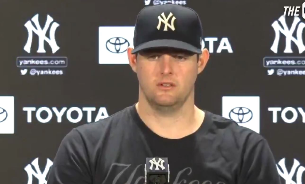 Jordan Montgomery reflects on his outing and his excitement to have Luis Severino back