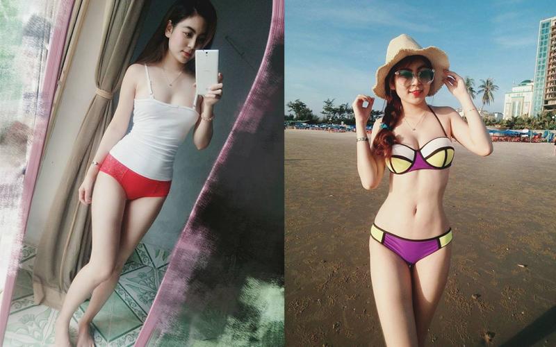Ngắm bộ ảnh cô giáo Hot Girl Trần Thị Nam Trân Bikini Sexy Múp Nóng Bỏng