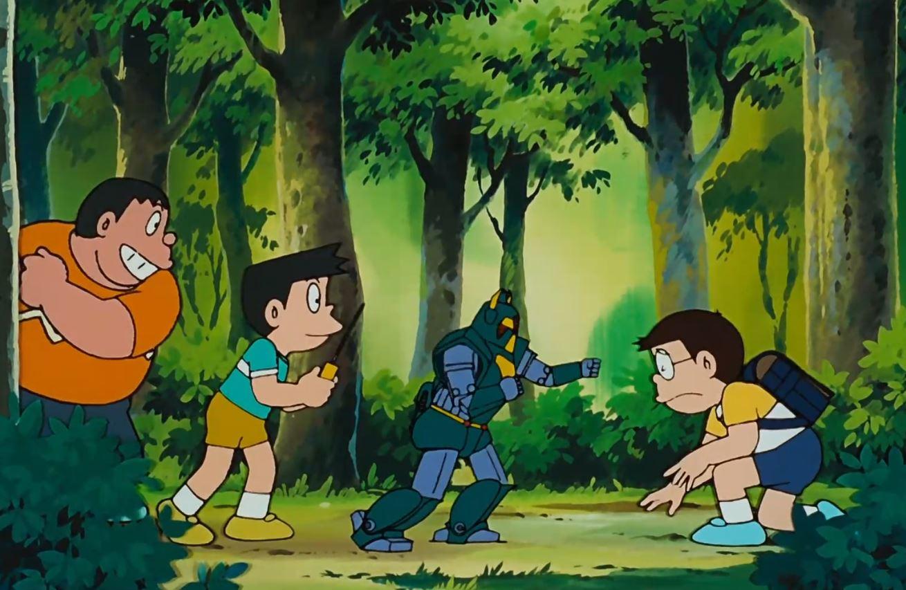 Doraemon tập dài: Nobitavà Binh đoàn người sắt - Doraemon - Nobita and the Steel Troops
